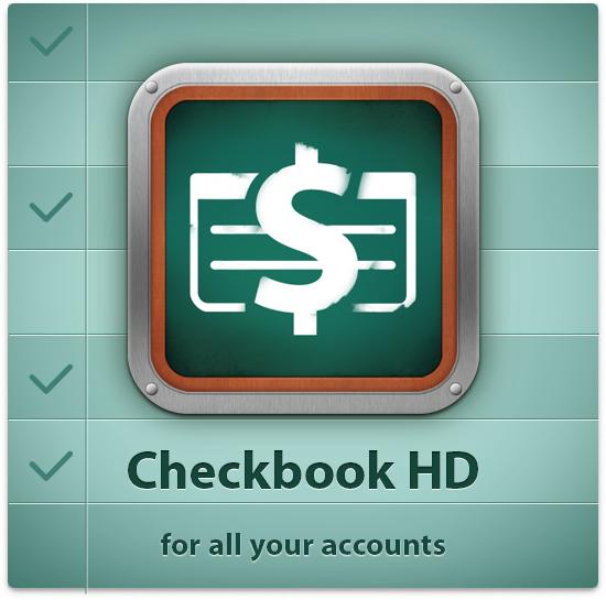 Checkbook for all your accounts with a list of transactions. Available for iPhone/iPad and Mac